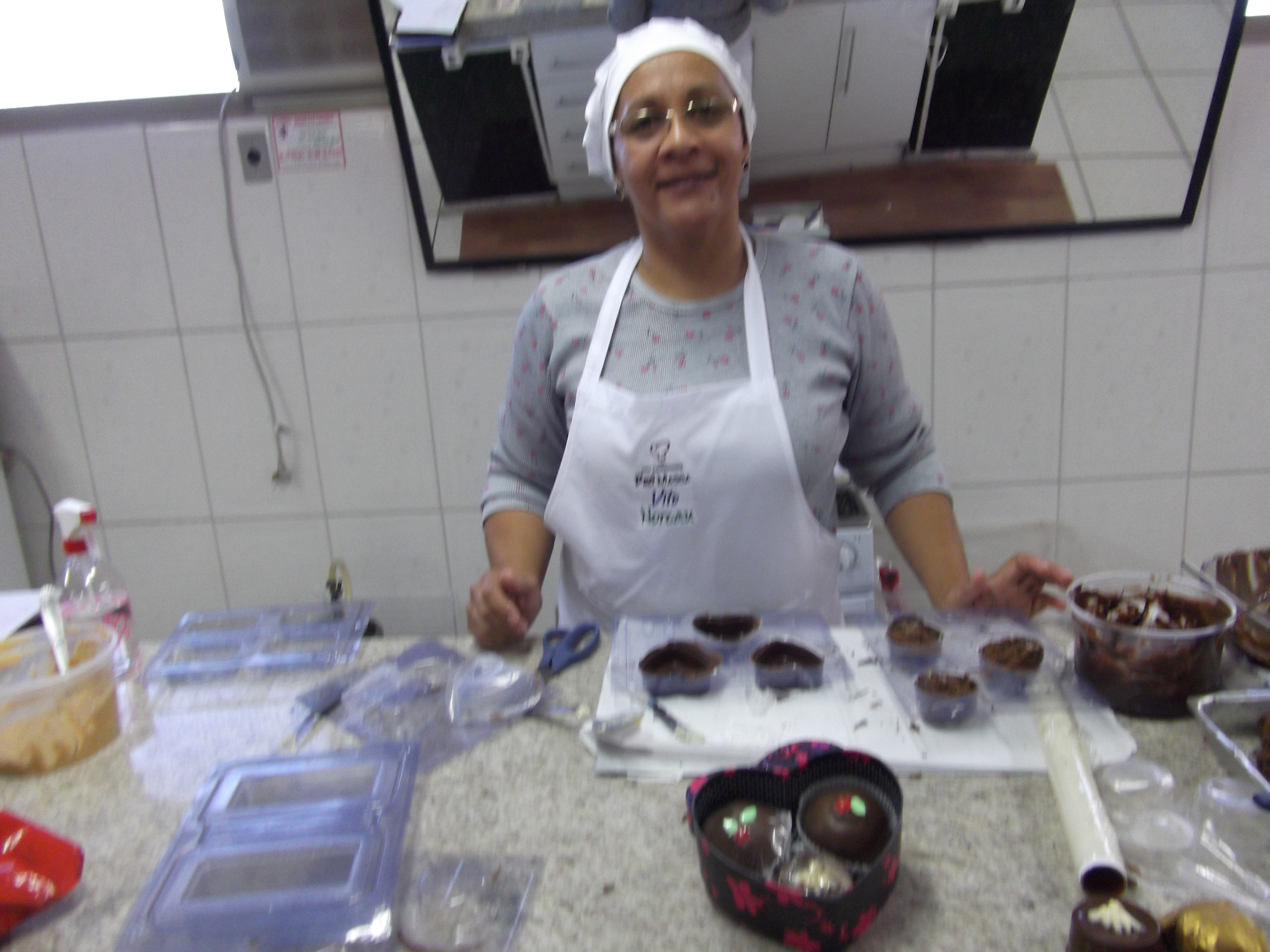 Festival de Pão de Mel recheado e decorado com Nair Ribeiro