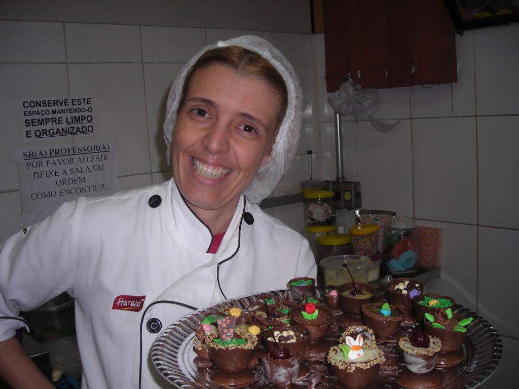 Trufas abertas decoradas para mesas de doces com Regina Guimarães